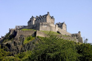 Vista do Castelo de Edimburgo