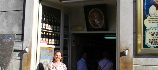 Saboreando a Ginjinha em Lisboa