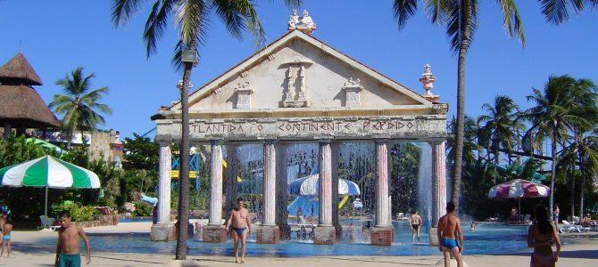 Fortaleza, dia de diversão no Beach Park