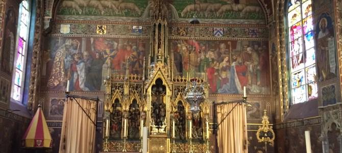 Bruges, visita à Basílica do Sangue Sagrado