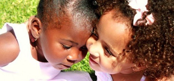 positive parenting, biracial baby, color blind kids