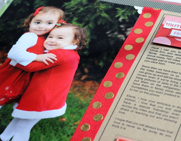family legacy, holiday traditions, christmas traditions, scrapbook layout designs, scrapbook journal prompts