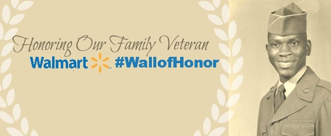 Honoring Our Favorite Veteran #WallofHonor