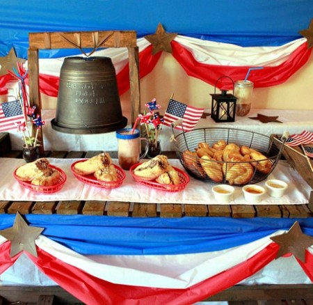 Philadelphia and 4th of July Party Inspiration