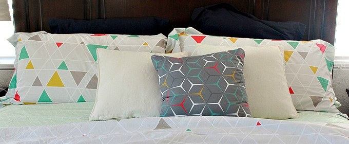 Our Home: Adding Pops of Color to Our Master Bedroom