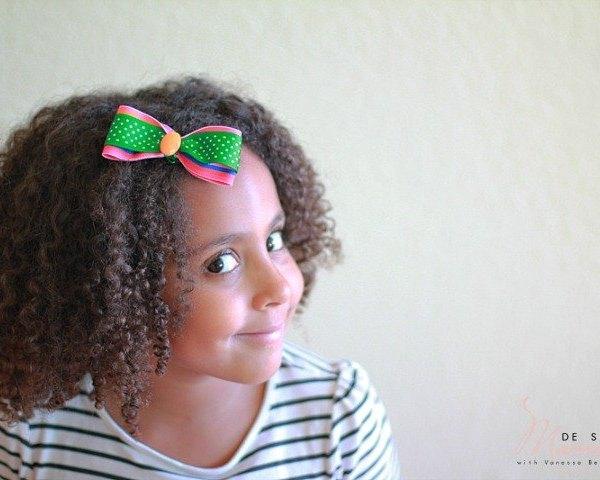 Simple St Patricks Day Crafts for Kids: Hair Bow and Bracelets