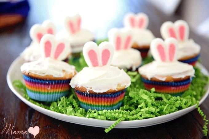 Easter Bunny Ear Cupcakes: Easy Bonding In The Kitchen - De Su Mama