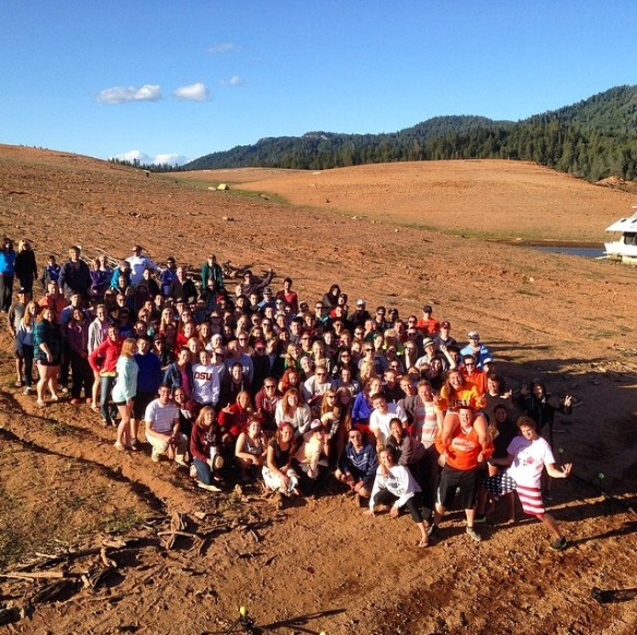 Students & leaders at #rlshasta 2014