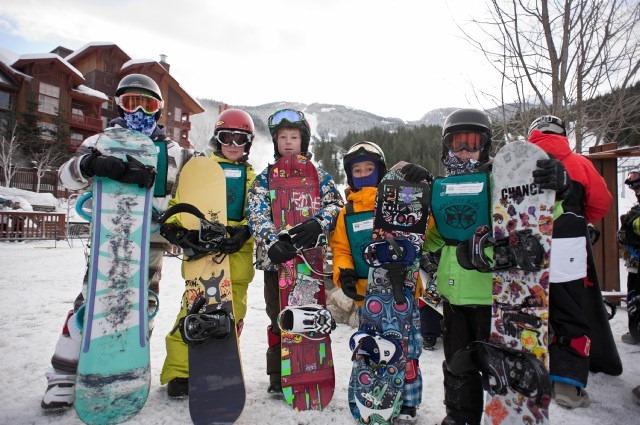 Snowboarding-Kids