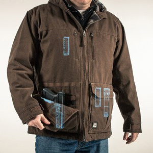 We now make holsters for the Berne Conceal Carry Workwear line of clothing