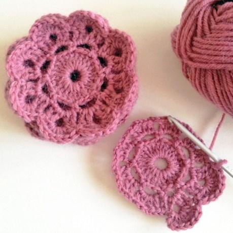 Maybelle crochet flower