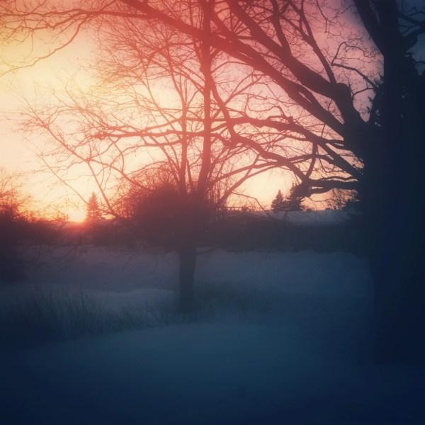 Sunset End of December