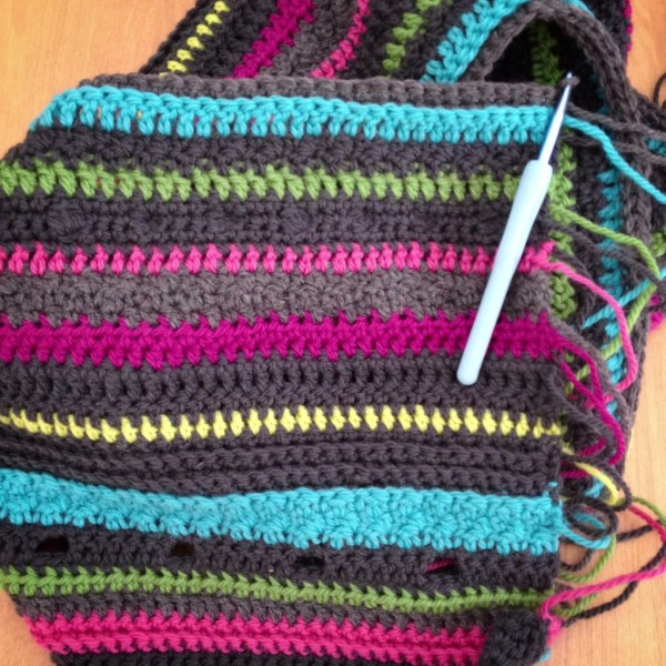 Crochet Blanket - Project 365 - Day 56