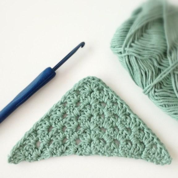 Free Crochet Pattern Motif Modification