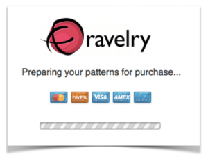 Store Ravelry - 1st screen