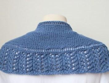 Knitting Pattern Shawl The Little Shawl