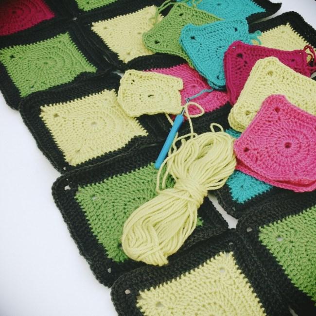 Crochet blanket – Bear's Rainbow Blanket – The Purl Bee