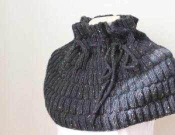 Knitting Pattern Cowl Tweedy Cowl