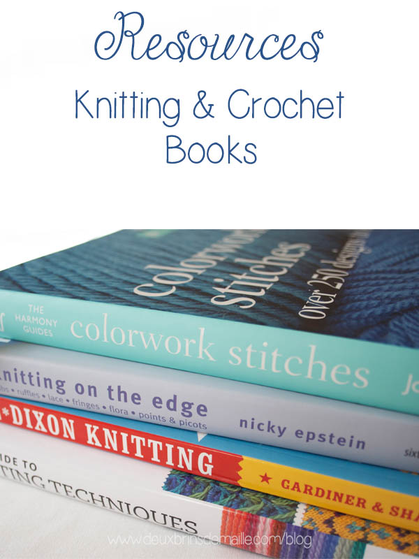 Resources Knitting and Crochet Books