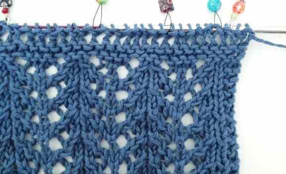 Project 365 – Knitting Shawl in Progress