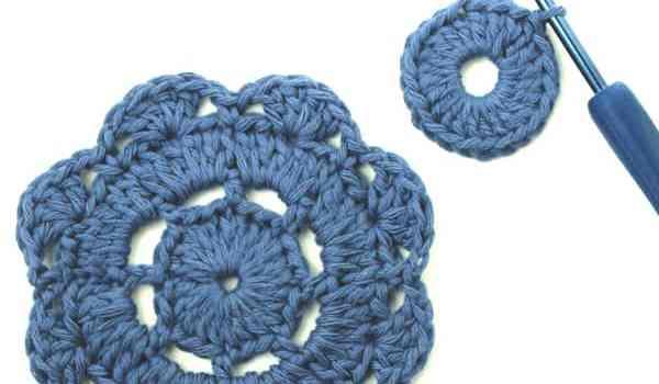 [How to] Crochet A Flower Motif