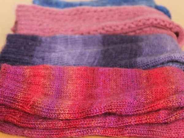Darning Knitted Socks