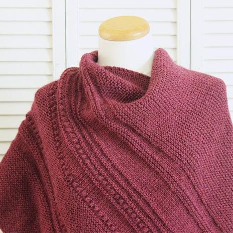 Knitting Pattern Comfort Shawl 2