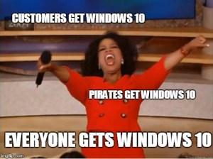 Oprah Everyone Gets Windows 10 Meme