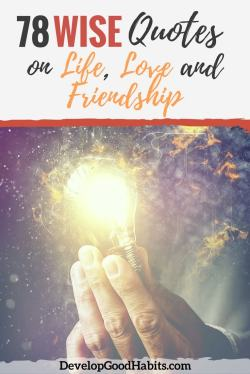 Small Of Love And Friendship Quotes