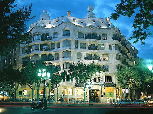 La Pedrera o Casa Milá en Barcelona