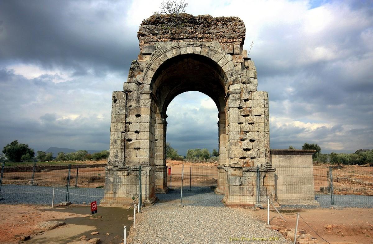 Las Ruinas Romanas de Cáparra