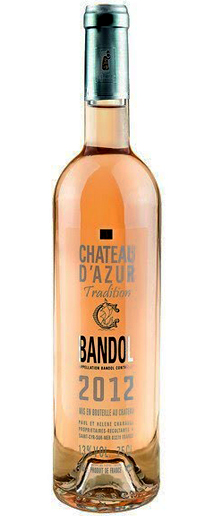 Chateau d'Azur Bandol Rosé Tradition