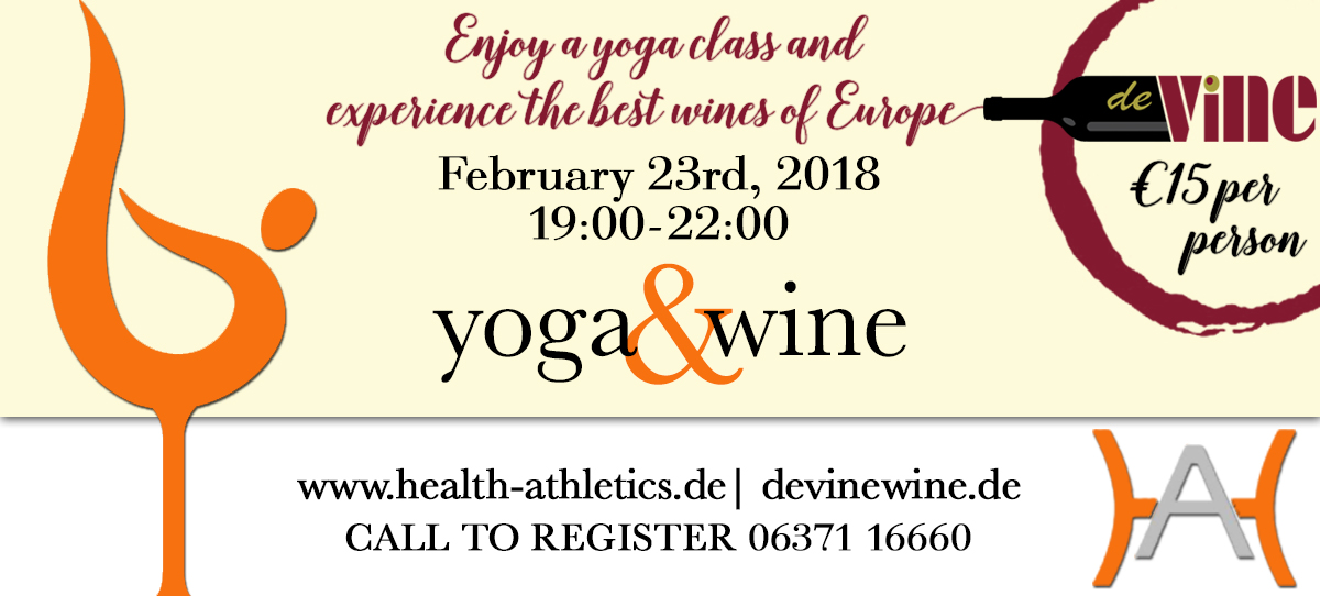 Yoga and Wine Event