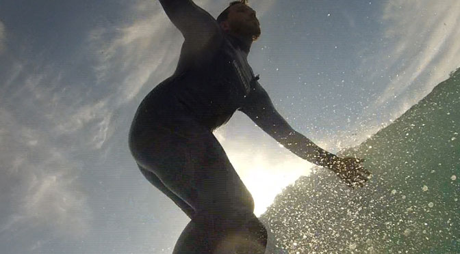 Surfing in a cold climate: the passion of Charging the Barrel