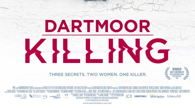 Thriller set in the South West – Dartmoor Killing advance poster