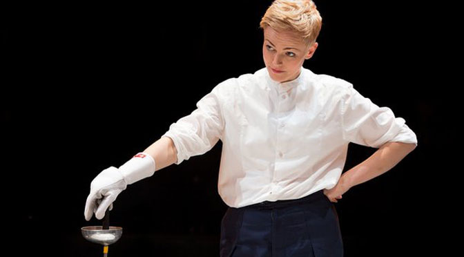 Maxine Peake as Hamlet on the big screen in Exeter