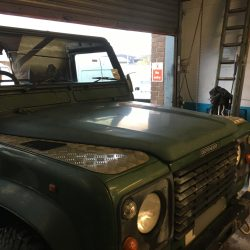Land Rover 110 Windscreen