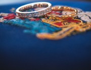The rings on a coats of arms