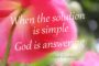 When the Solution is simple - Albert Einstein Quote