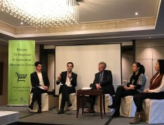 Riccardo and THibaut from Dezan Shira joined the Panel Discussion on IP Protection in China to Belgian E-commerce Delegation