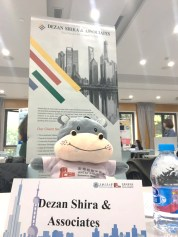 Dezan Shira was invited to attend Jiaotong University Career Fair for Interntional students