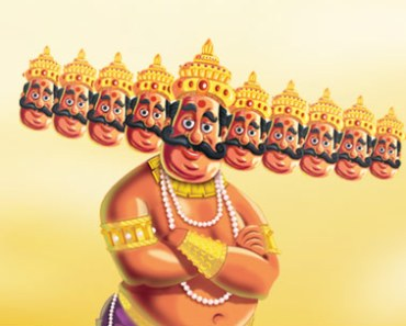 ravana multiple heads