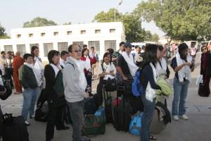 Bodhgaya arrival