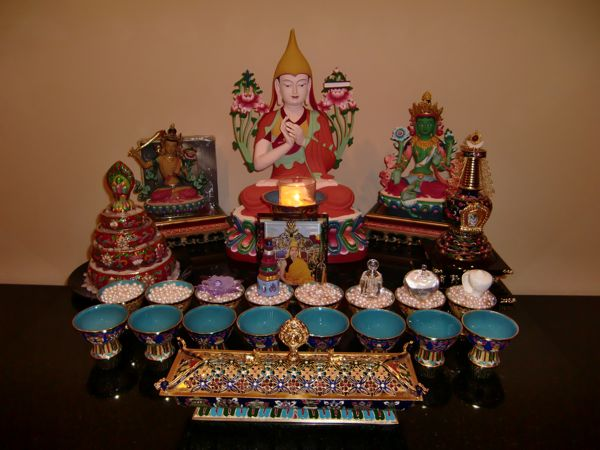 How To Set Up A Tibetan Buddhist Altar Dharma Keng