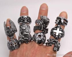 Small Of Gothic Wedding Rings