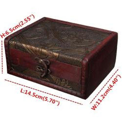 Comfy Online Cheap Vintage Jewelry Box Jewellery Organizer Storage Case Mini Woodflower Pattern Metal Lock Container Handmade Wooden Small Boxes By Online Cheap Vintage Jewelry Box Jewellery Organizer