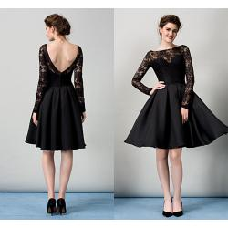 Small Crop Of Black Cocktail Dress