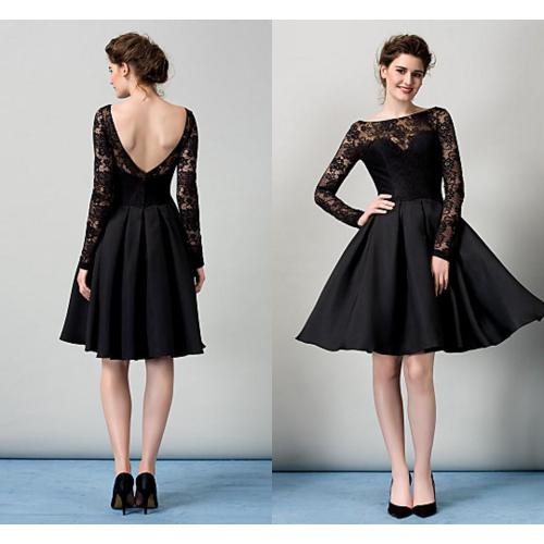 Medium Crop Of Black Cocktail Dress
