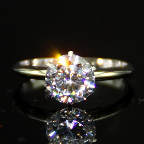 Medium Of Lab Created Diamond Rings