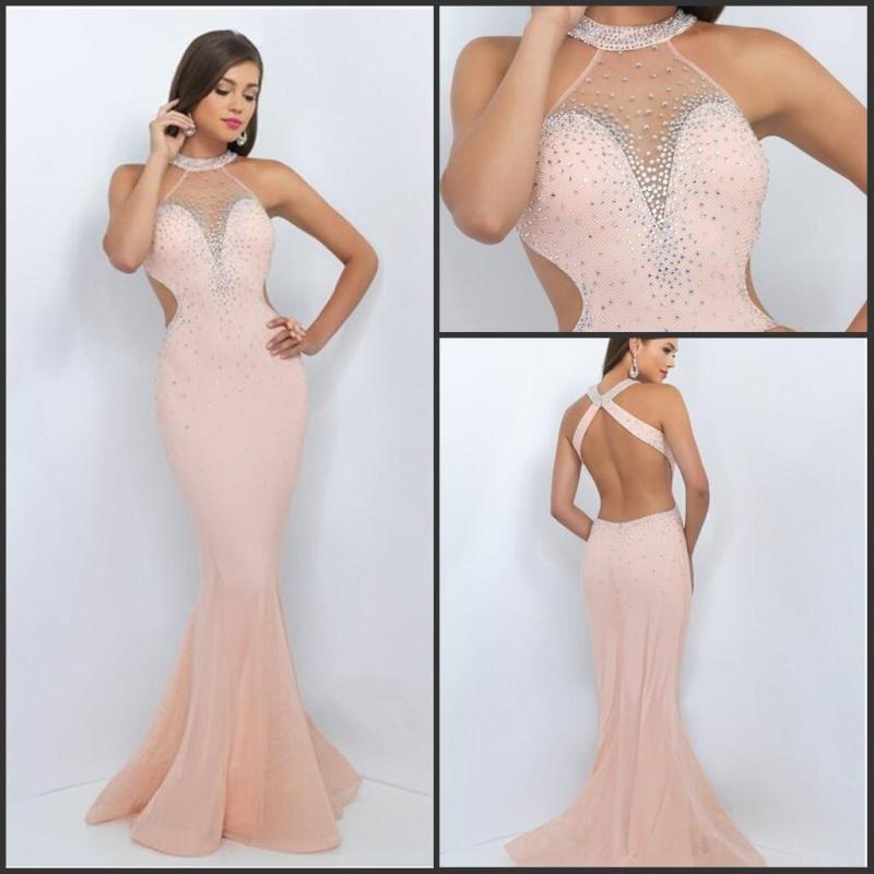Large Of Blush Prom Dresses